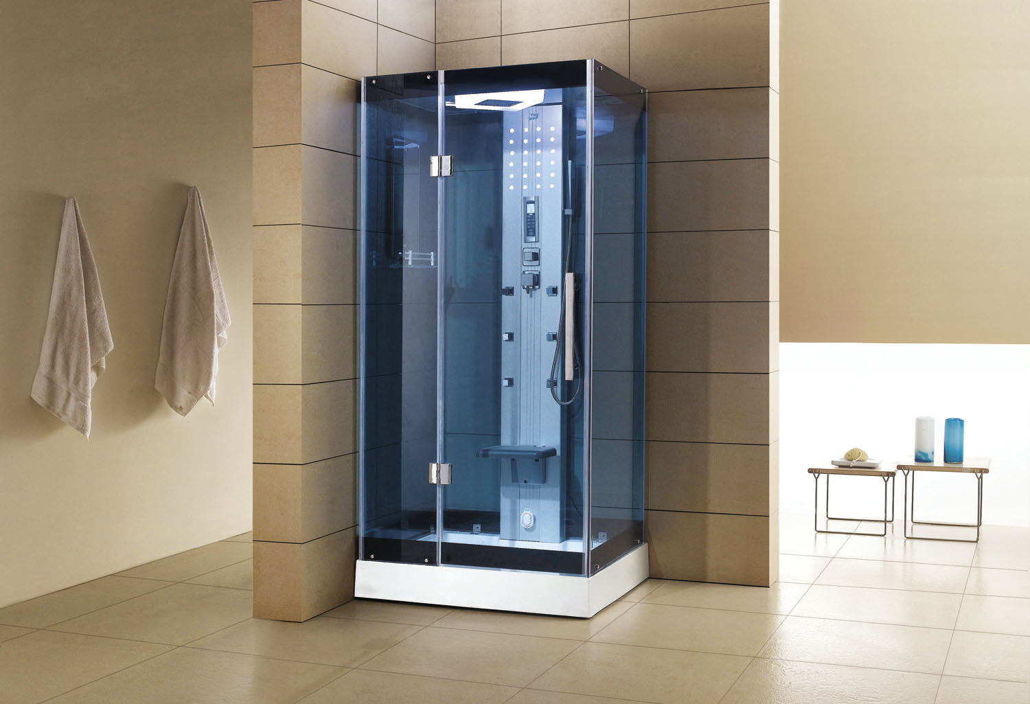 que devez vous savoir avant d installer votre cabine de douche hammam blog de l 39 hydromassage. Black Bedroom Furniture Sets. Home Design Ideas